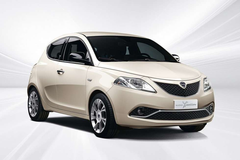 Lancia Ypsilon color panna