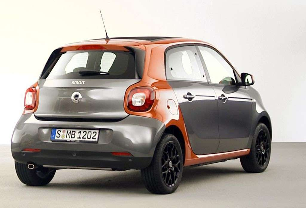 Smart Forfour posteriore