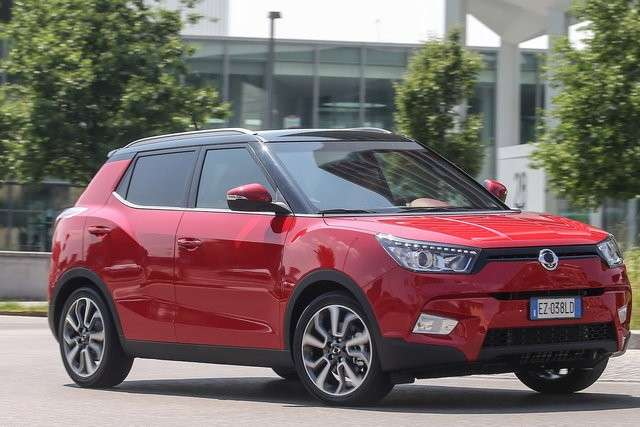 Ssangyong Tivoli look innovativo