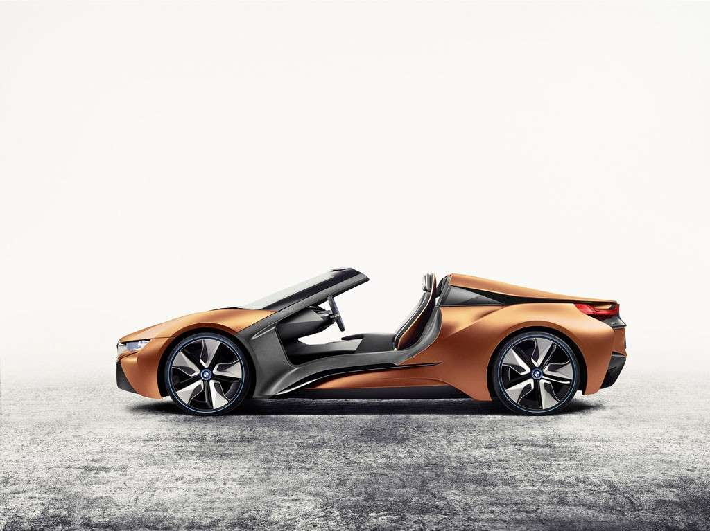 BMW i Vision Future Interaction Concept profilo