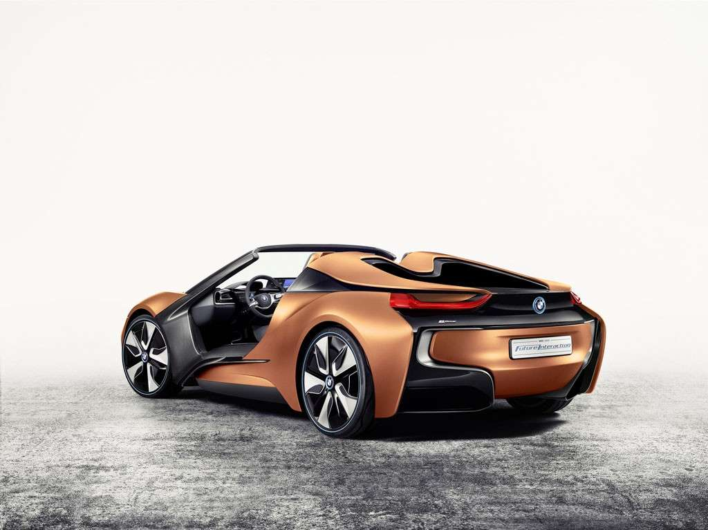 BMW i Vision Future Interaction Concept posteriore