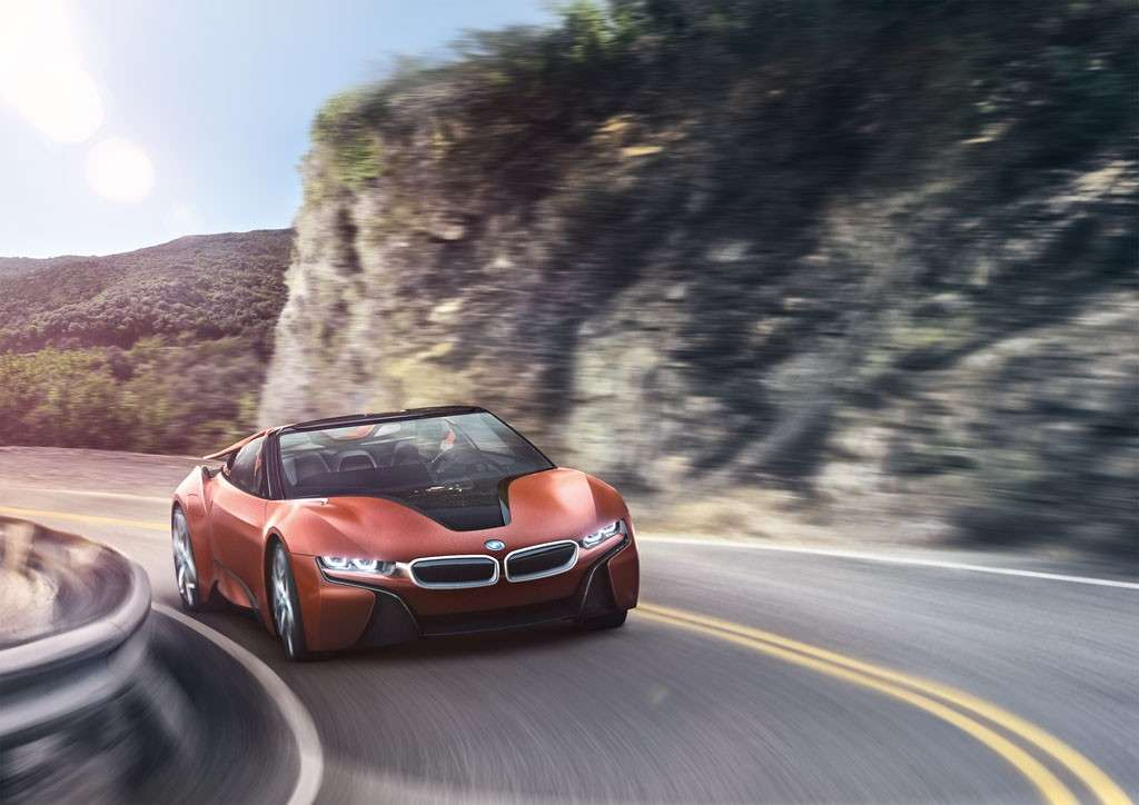 BMW i Vision Future Interaction Concept anteriore