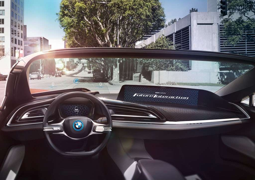 BMW i Vision Future Interaction Concept volante