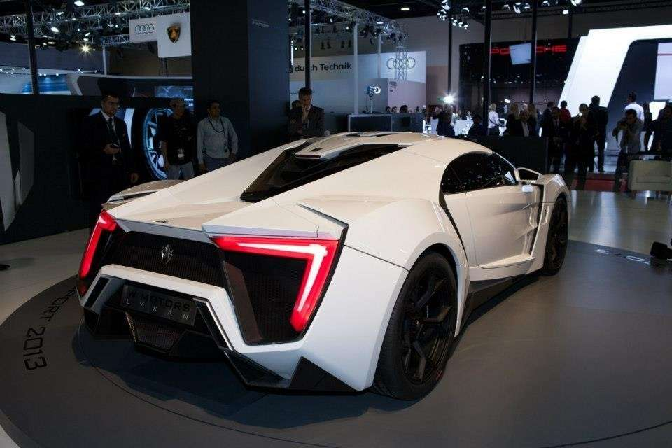 W Motors Lykan Hypersport posteriore