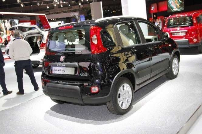 Fiat Panda Natural Power nera