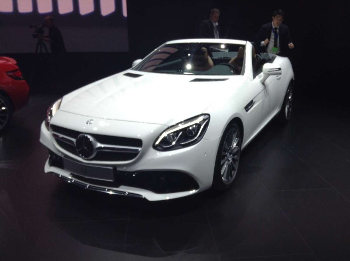 Mercedes-Benz SLC al NAIAS 2016