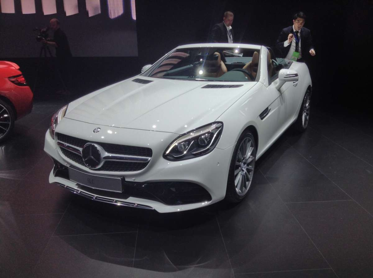 Mercedes-Benz SLC al Salone di Detroit 2016