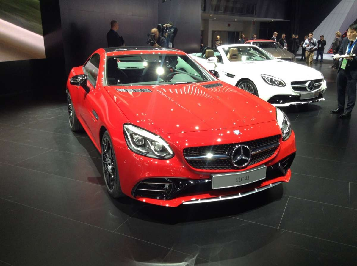 Mercedes-Benz SLC, bellissimo frontale