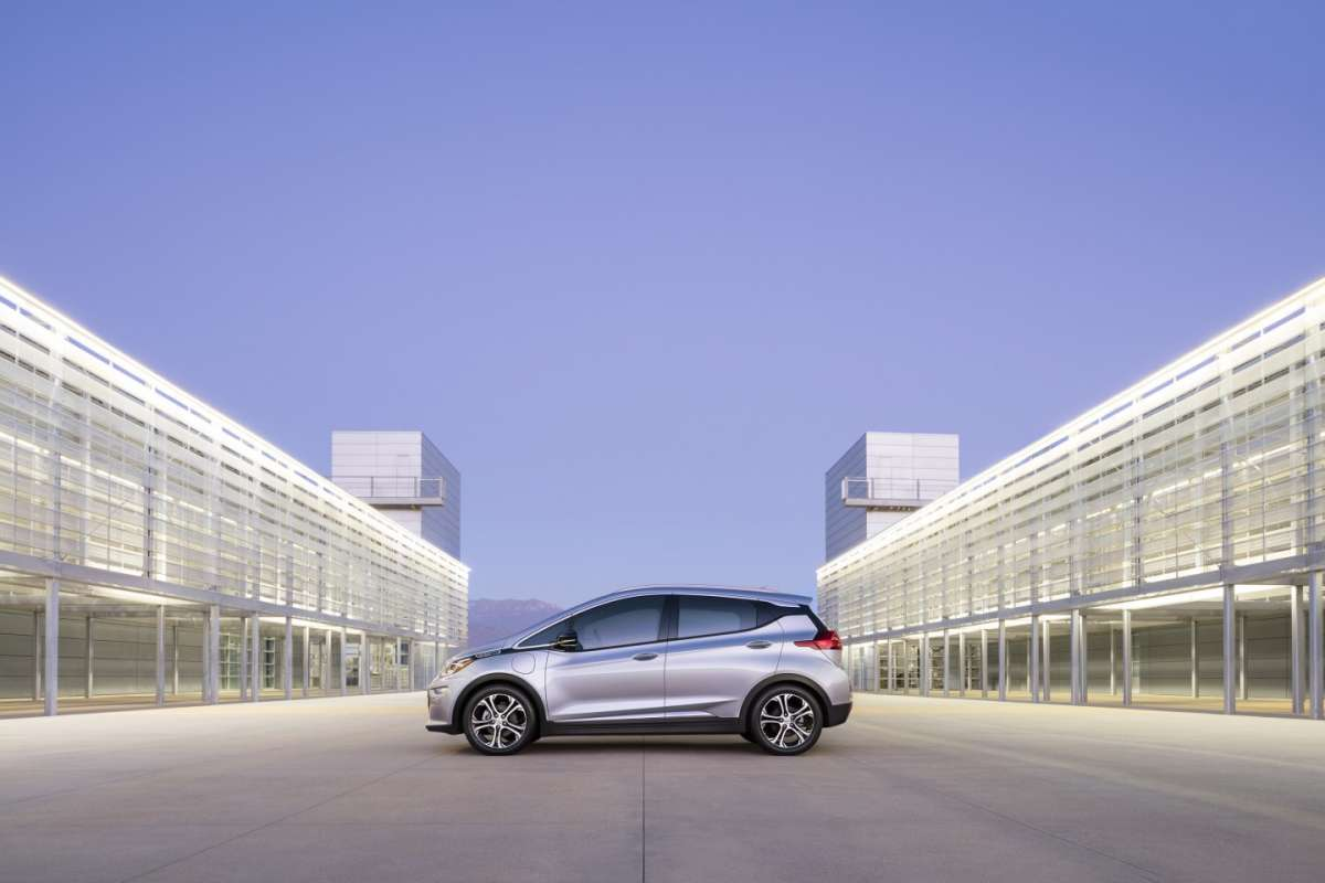 Chevrolet Bolt EV dimensioni