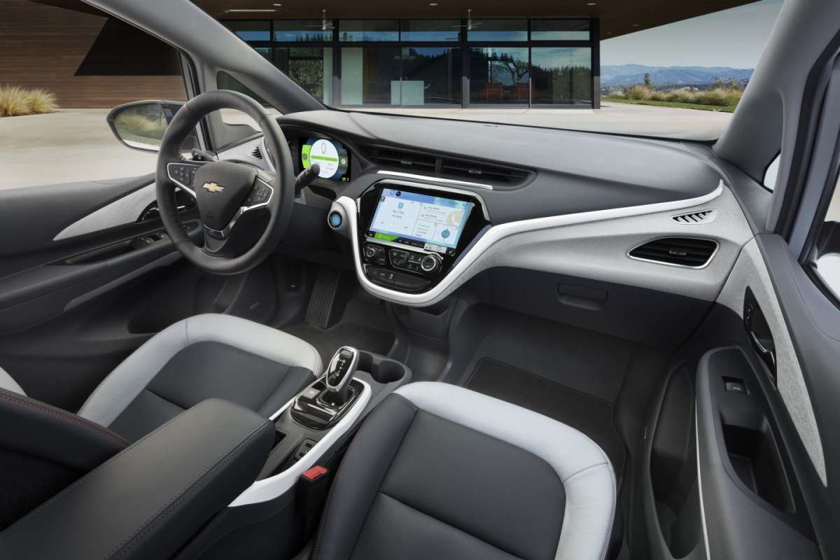Chevrolet Bolt EV interni