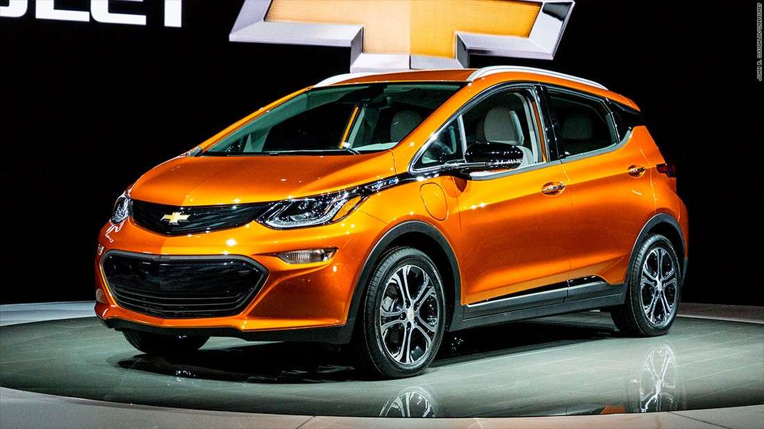 Chevrolet Bolt EV NAIAS Detroit 2016