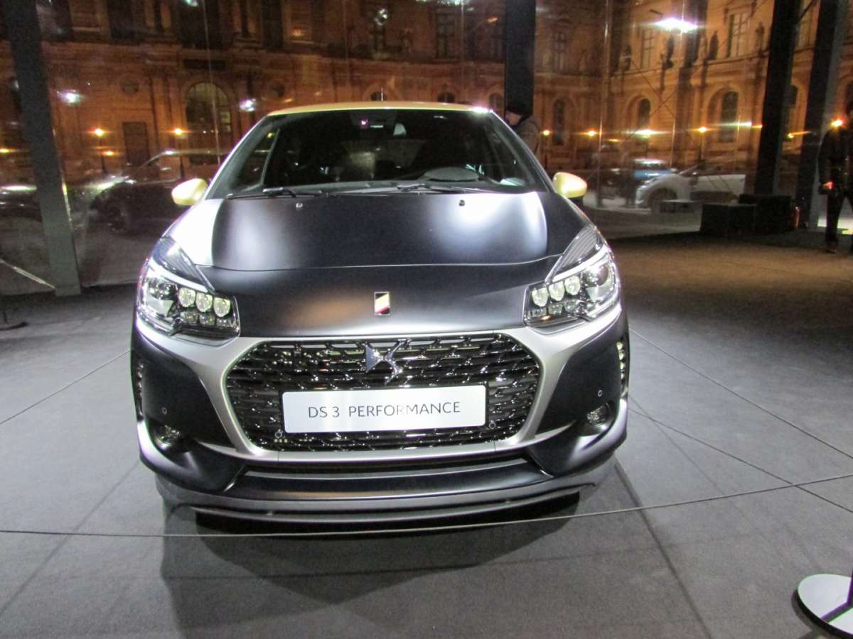 DS 3 Performance anteriore