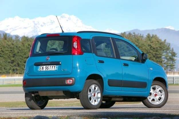 Fiat Panda Natural Power posteriore