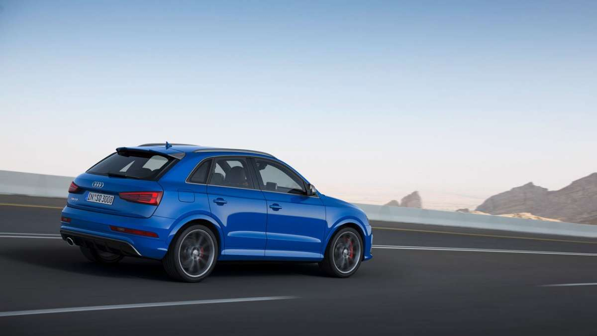 Audi RS Q3 Performance laterale posteriore