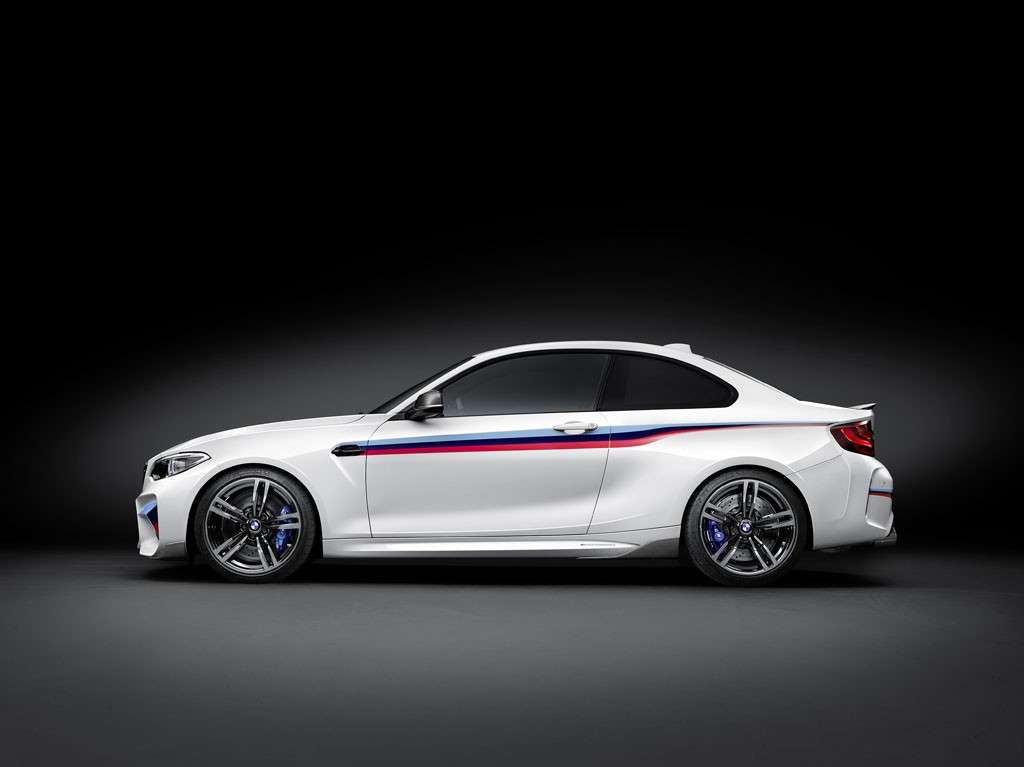 BMW M2 Coupé M Performance design profilo