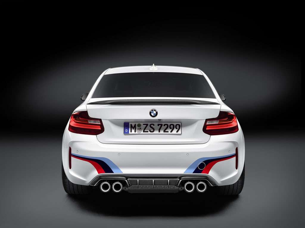 BMW M2 Coupé M Performance design posteriore