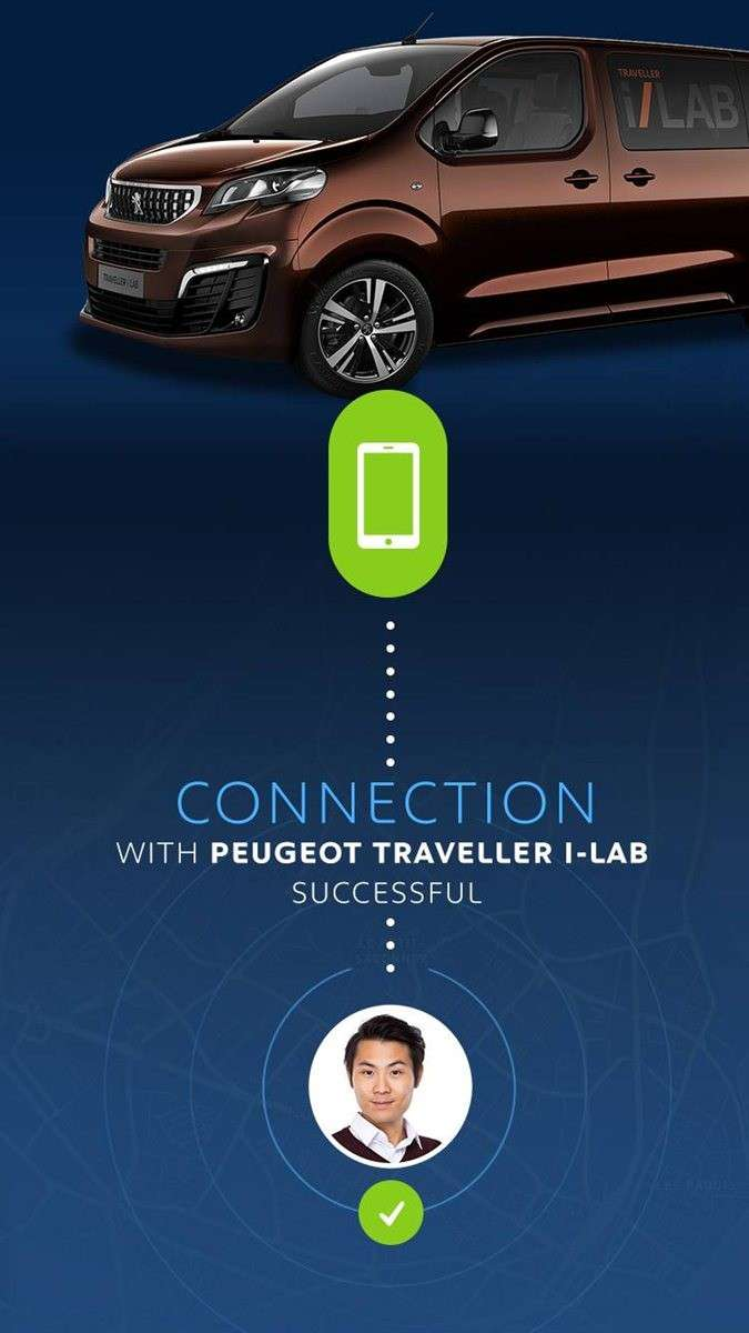 Peugeot Traveller i-Lab con Wifi