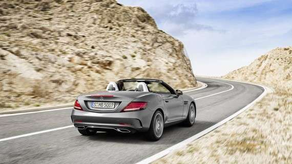 Mercedes-Benz SLC bellissimo look