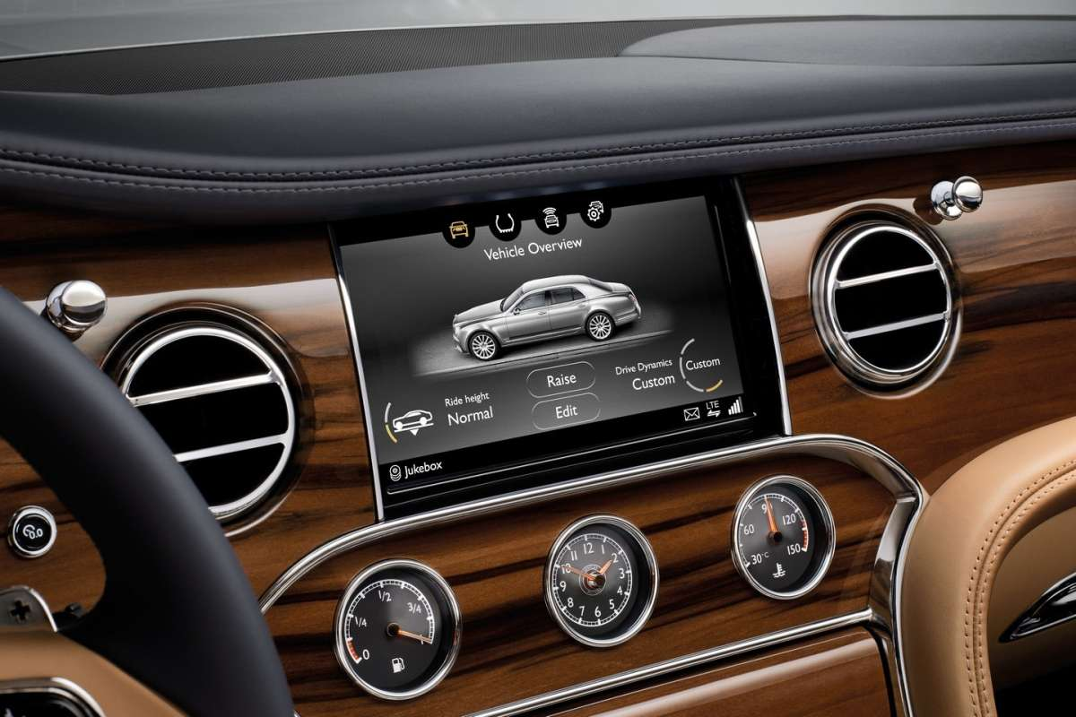 Infotainment Bentley Mulsanne 2016