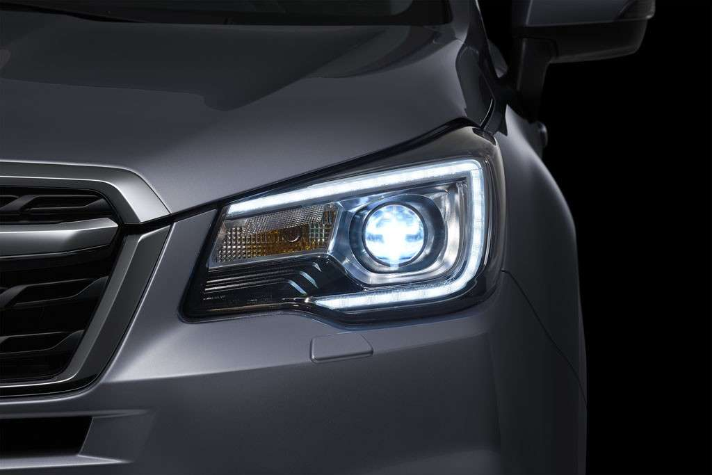Subaru Forester 2016 luci a Led