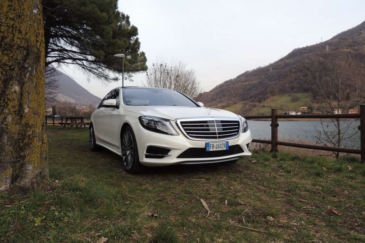 Mercedes S350d 4MATIC frontale