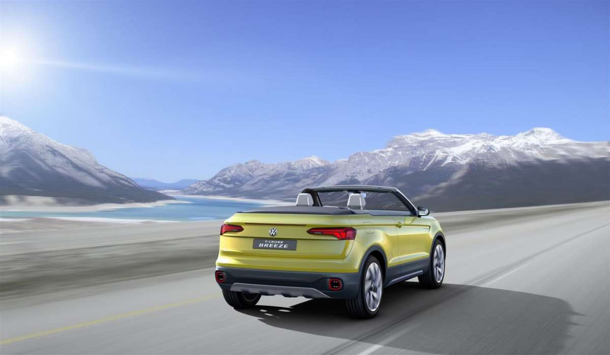 Motore di Volkswagen T-Cross Breeze concept
