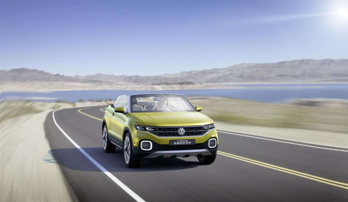 Crossover Volkswagen T-Cross Breeze concept