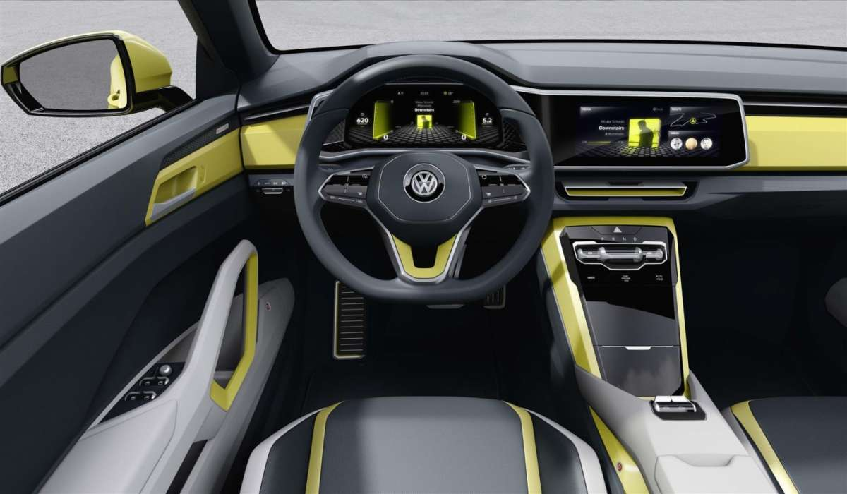 Interni di Volkswagen T-Cross Breeze concept
