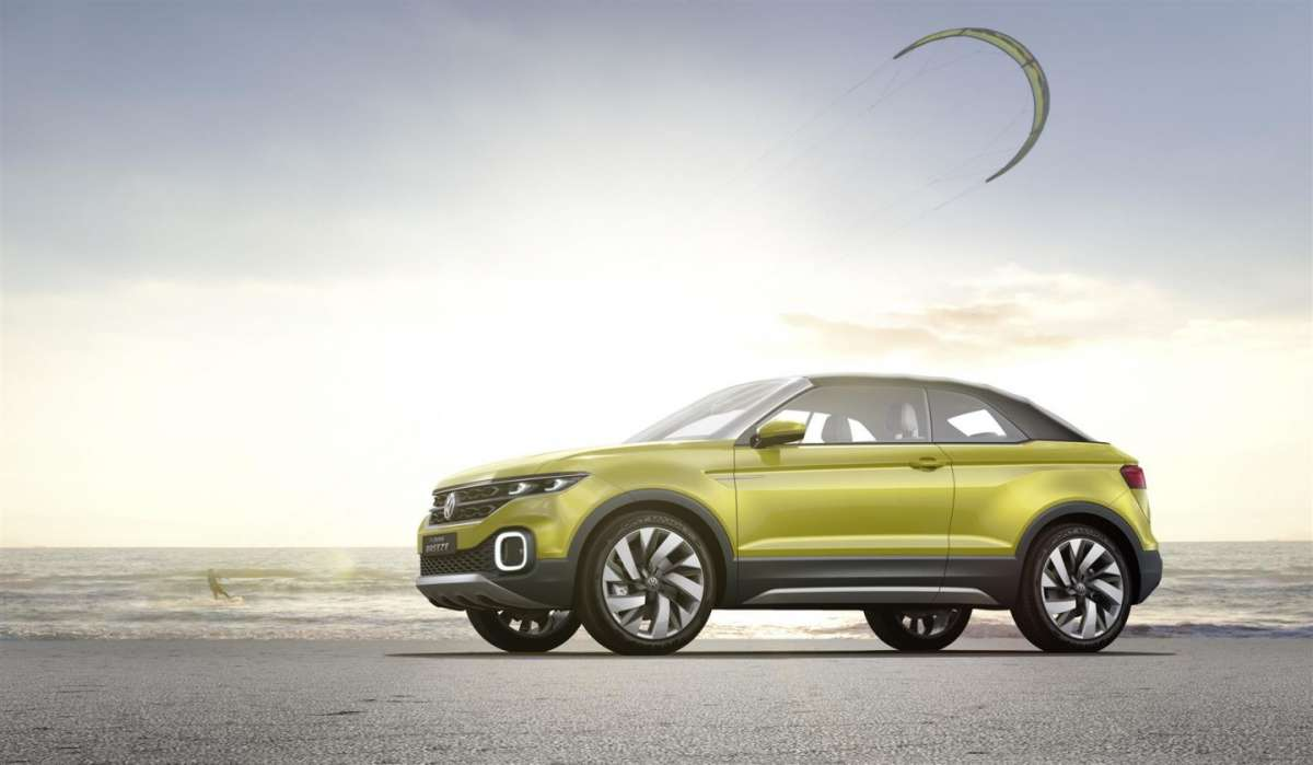 Uscita di Volkswagen T-Cross Breeze concept