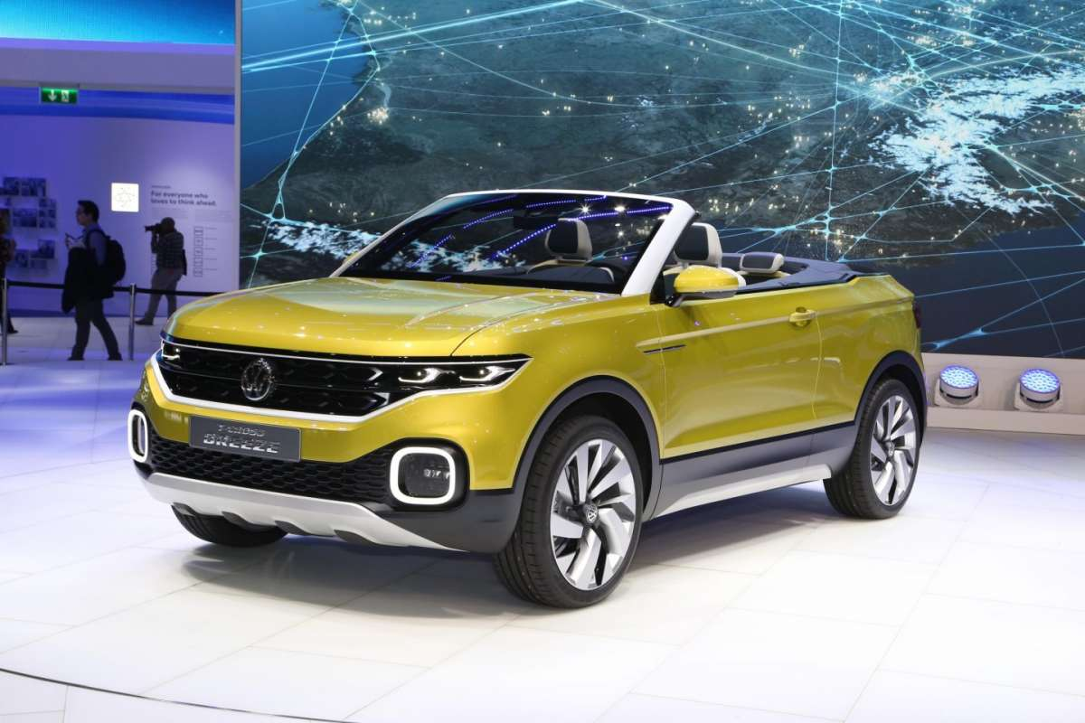 Capote di Volkswagen T-Cross Breeze, Salone di Ginevra 2016