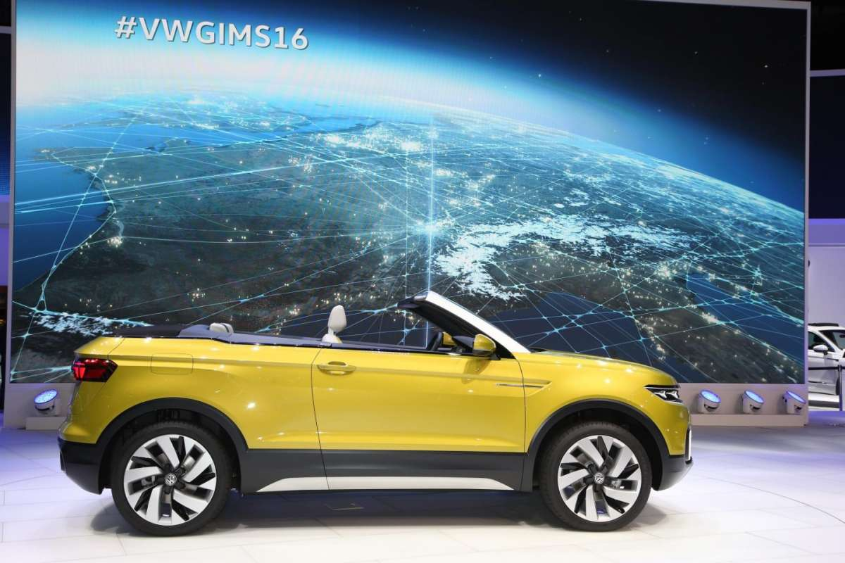 Passo di Volkswagen T-Cross Breeze, Salone di Ginevra 2016