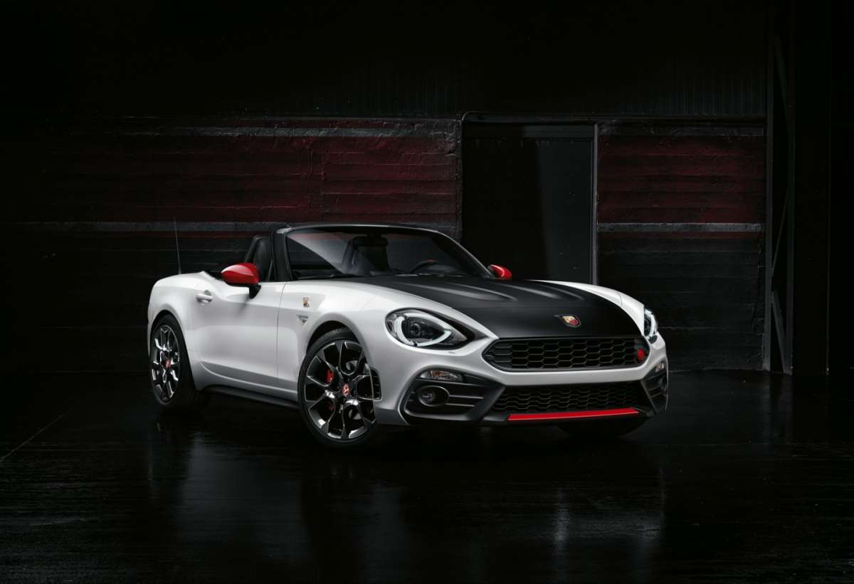 Abarth 124 Spider, look travolgente
