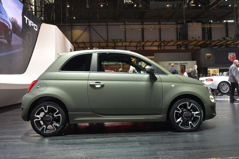 Fiat 500S laterale