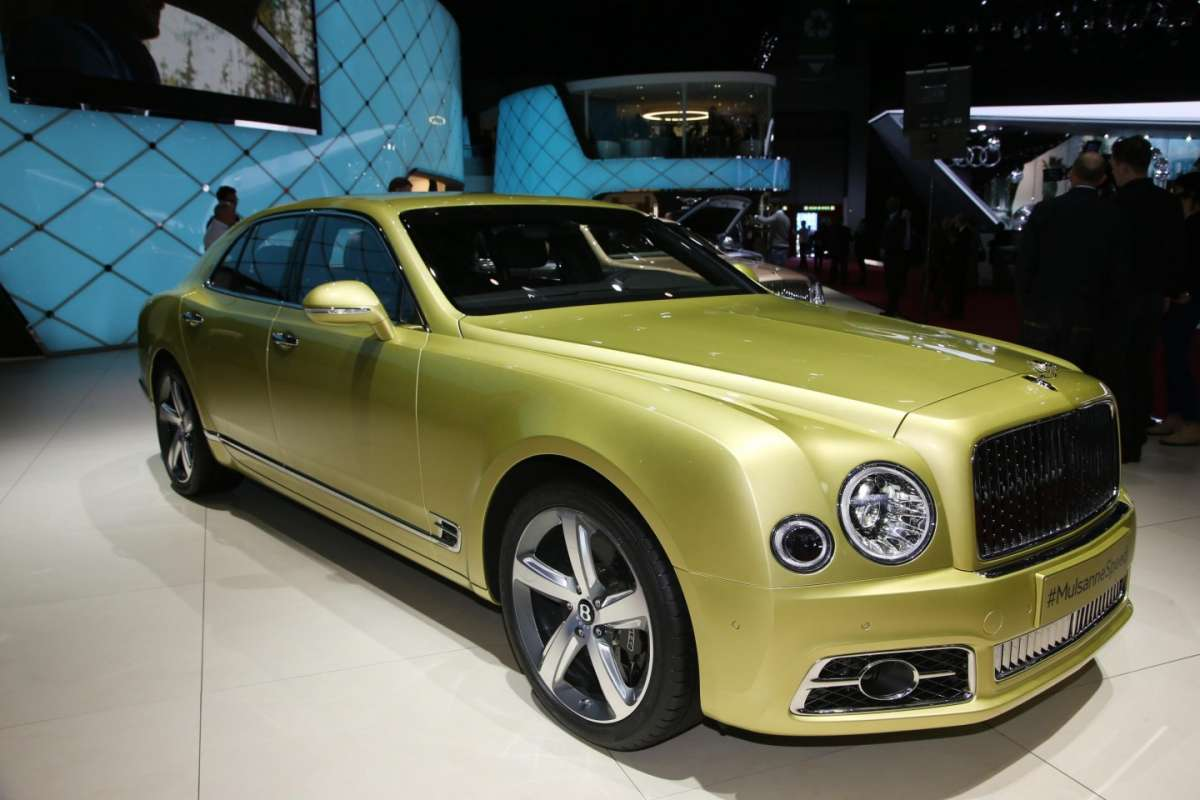 Bentley Mulsanne Speed, Salone Ginevra 2016