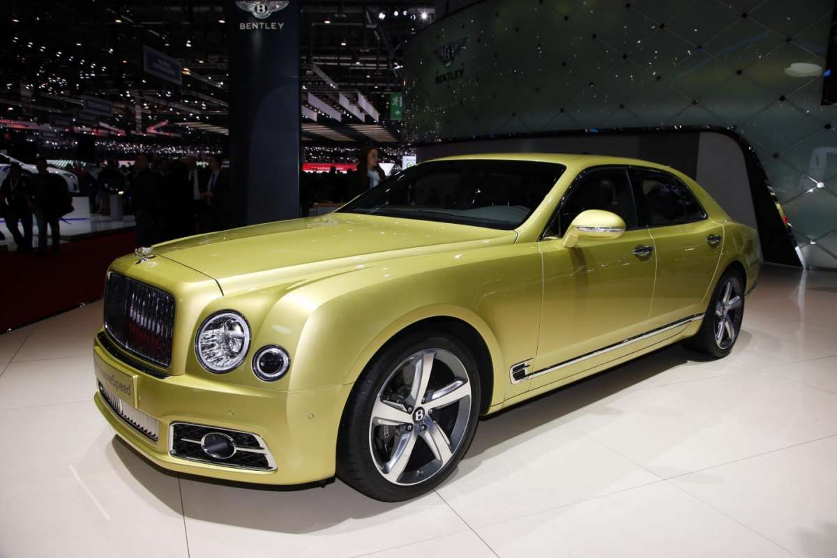 Cerchi di Bentley Mulsanne Speed, Salone Ginevra 2016