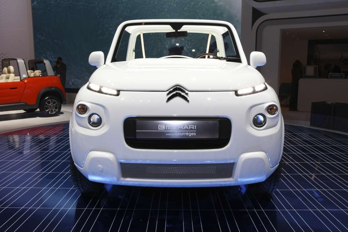 Citroen E-Mehari by Courreges anteriore