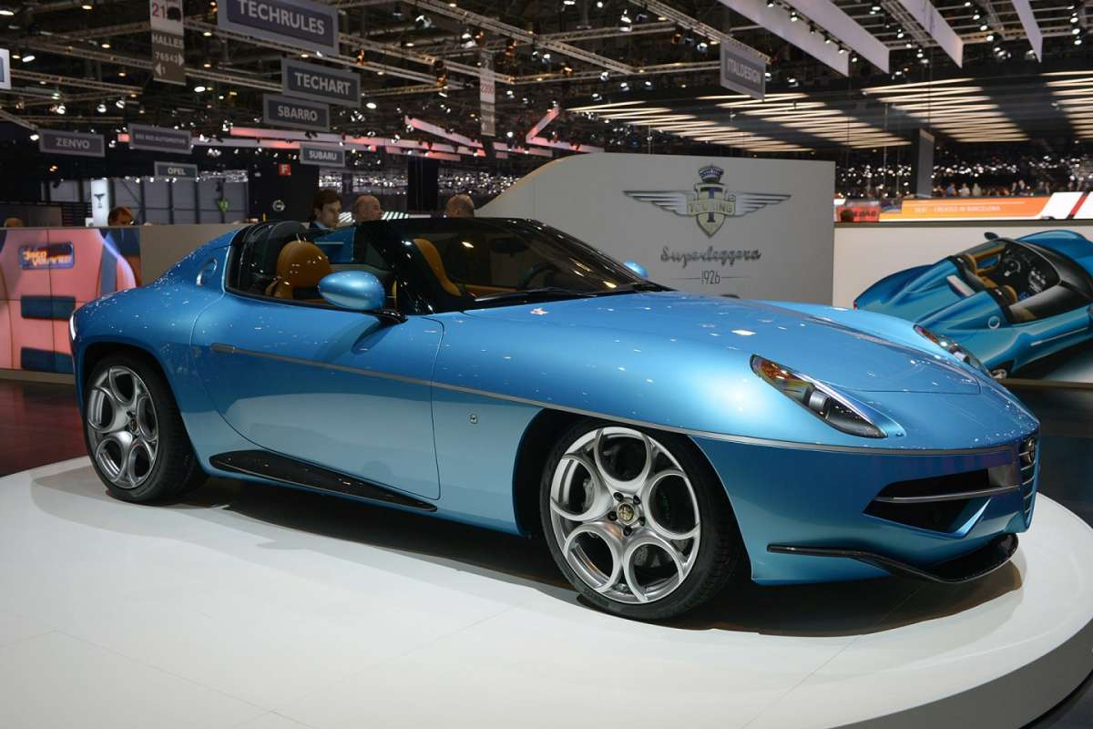 Touring Superleggera Disco Volante Spyder 2016