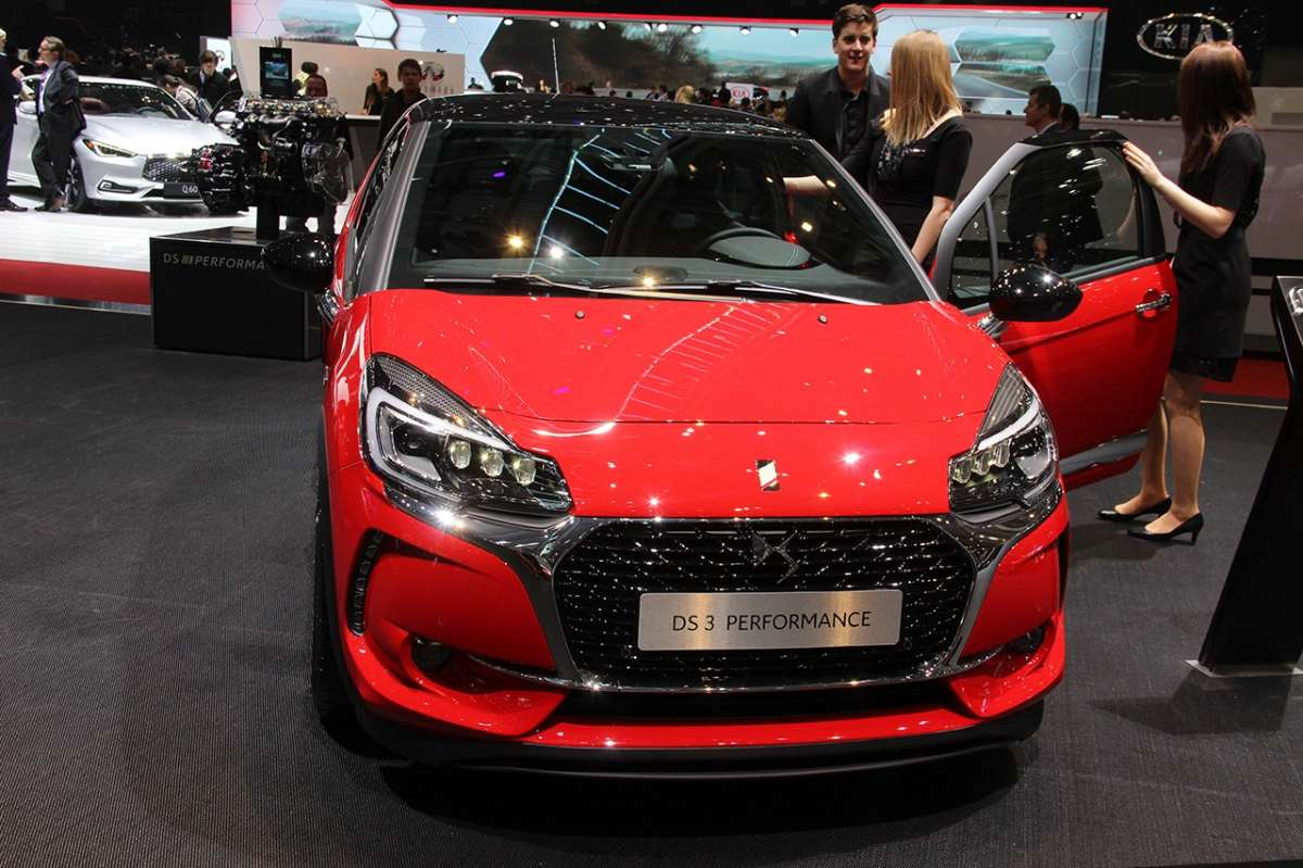 DS 3 Performance al Salone di Ginevra 2016