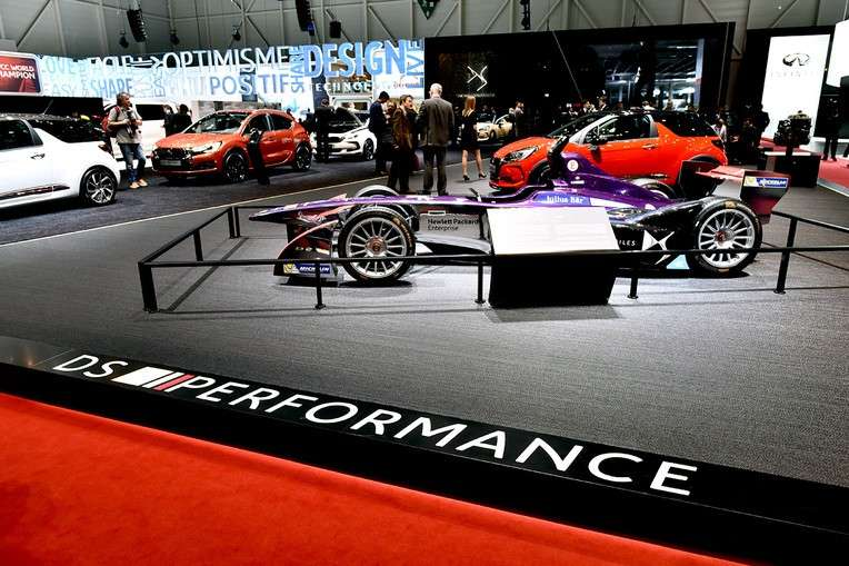 DS Performance al Salone di Ginevra 2016