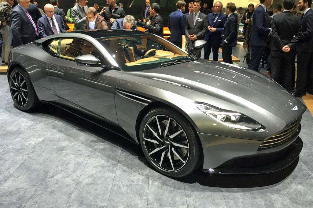 Aston Martin DB11 design