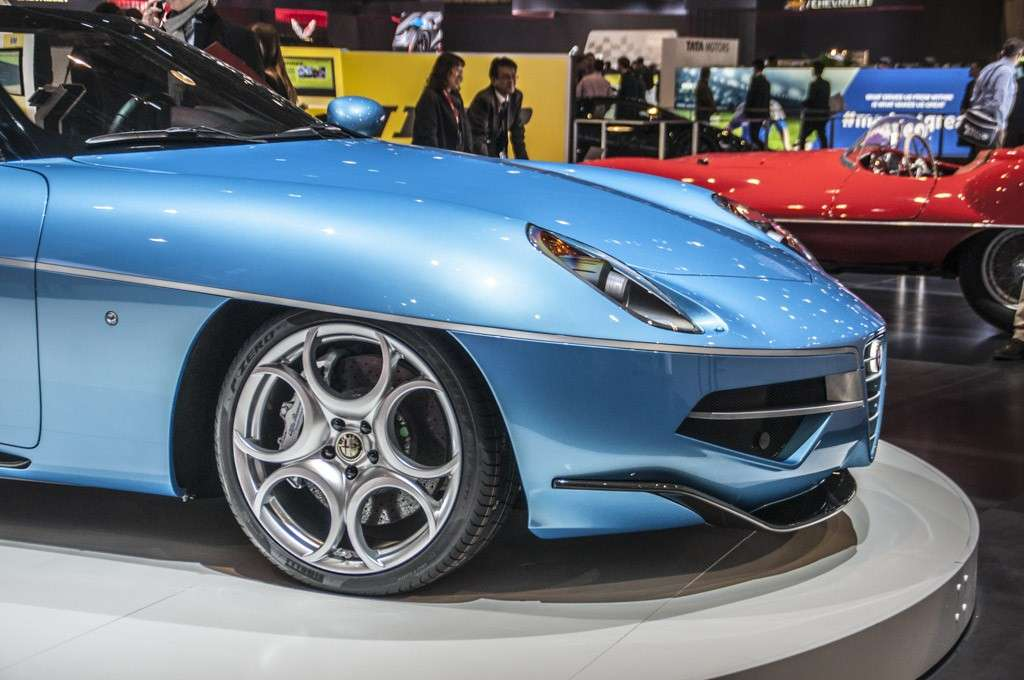 Touring Superleggera Disco Volante Spyder design
