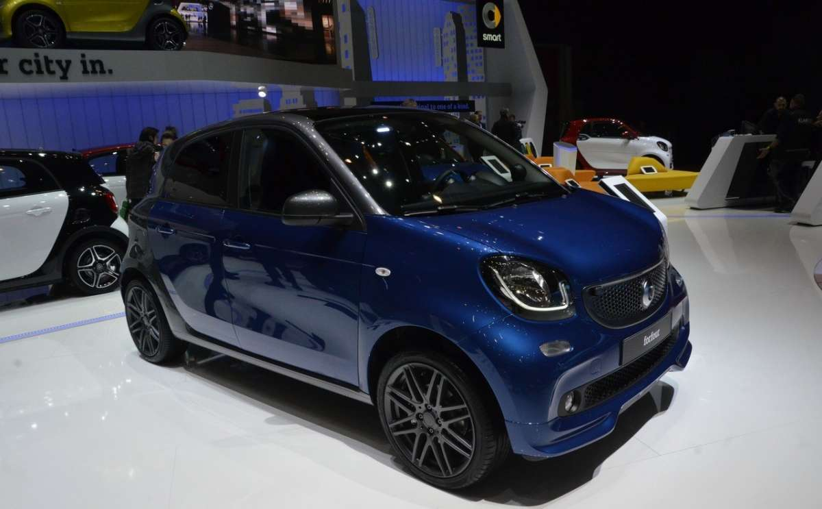 Smart ForFour a Ginevra 2016