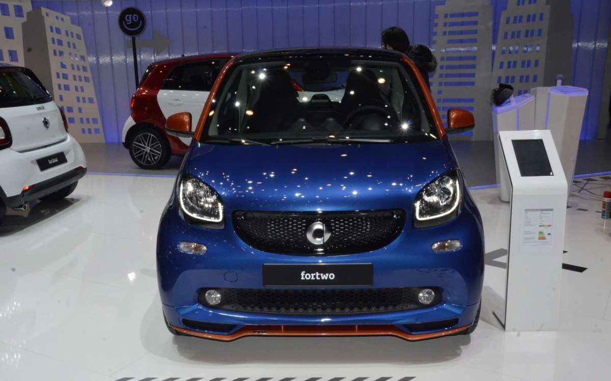 Smart ForTwo, il frontale