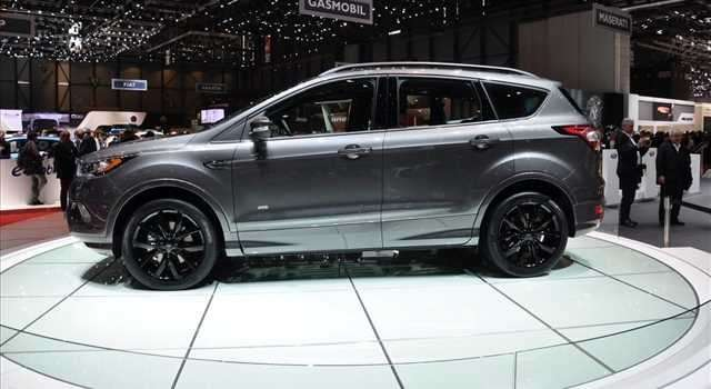 Ford Kuga restyling
