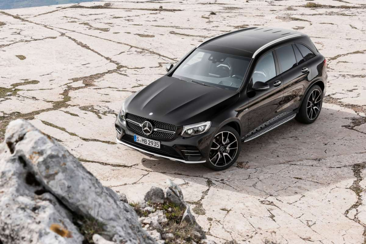 Mercedes AMG GLC 43 4Matic al Salone di New York