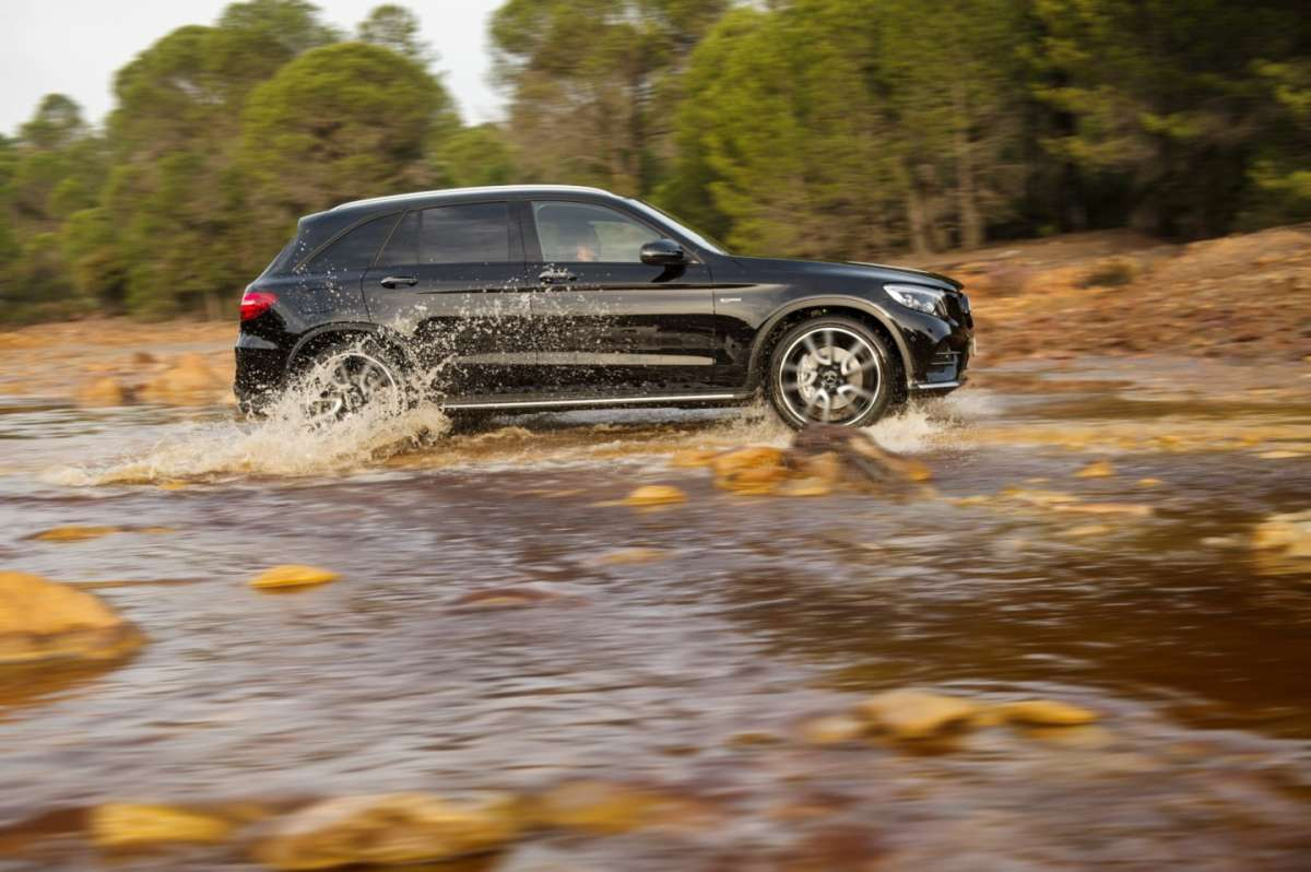 Mercedes AMG GLC 43 4Matic, dimensioni