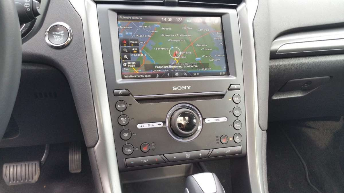 Ford Mondeo consolle centrale
