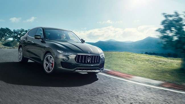 Maserati Levante al Salone di New York