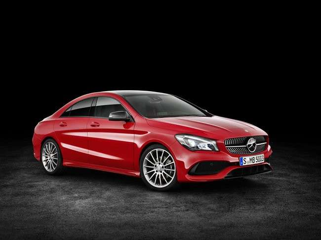 Mercedes-Benz CLA, il restyling