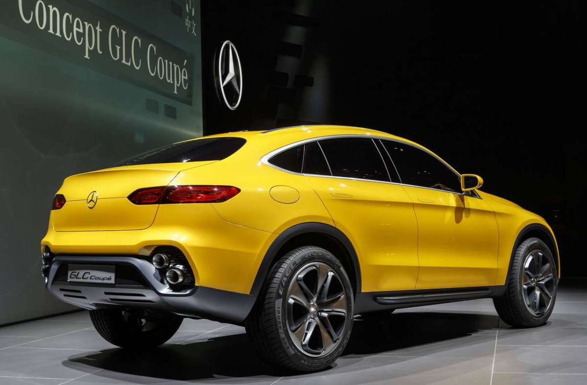 Mercedes-Benz GLC Coupè